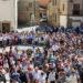 Decenas de ragueses celebran el I centenario de la traída del agua a Larraga