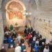 Presentada la reproducción de las pinturas murales de la iglesia de San Martín de Artaiz en Unciti