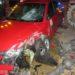Detenido por superar la tasa de alcohol al volante y destrozar una farola del Ebro