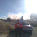 Cortan el trafico debido a un incendio en la Estanquilla de Corella