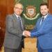 Reunión entre los alcaldes de Tudela y Pamplona