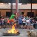 Las hogueras de San Juan en Sangüesa, en imágenes