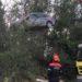 Retiran varios vehículos del río Cidacos tras las inundaciones de Tafalla
