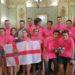 Reciben en Tudela al equipo de robótica participante en la Final Nacional de la WRO 2019