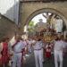 La procesión y las vísperas de las fiestas de Sangüesa 2019, en imágenes